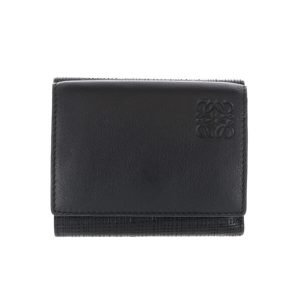 リネン 三つ折り 財布