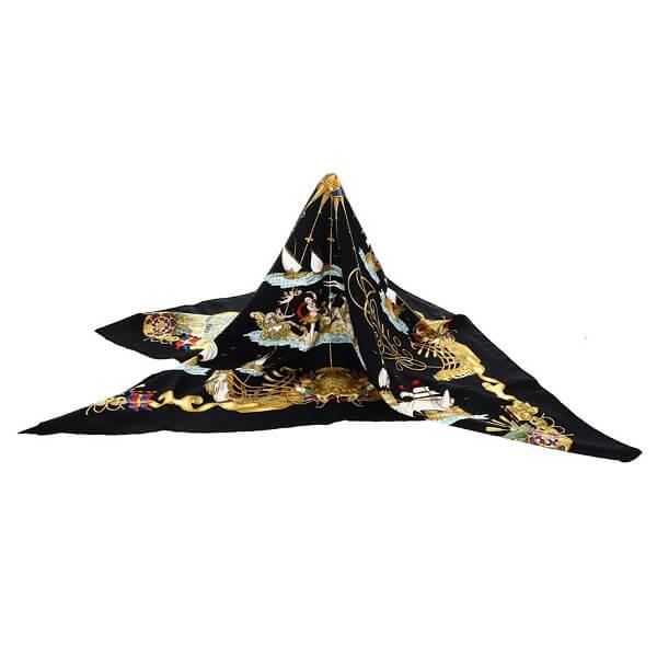 カレ90 シルクスカーフ VOILES DE LUMIERE